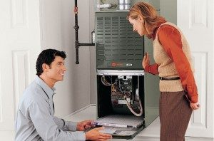 heating and cooling system inspection