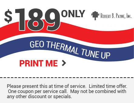 189 only geo thermal tune up