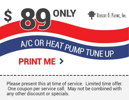 Coupon 89 Off AC or Heat Pump Tune Up