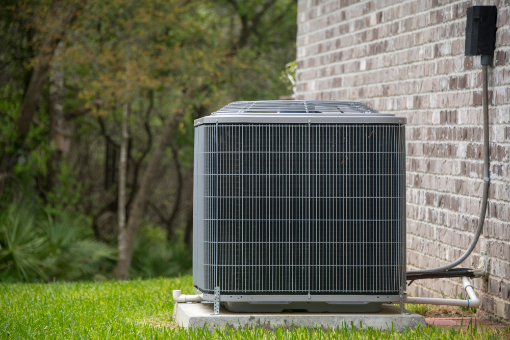 A modern HVAC system requires occasional maintenance from expert technicians.