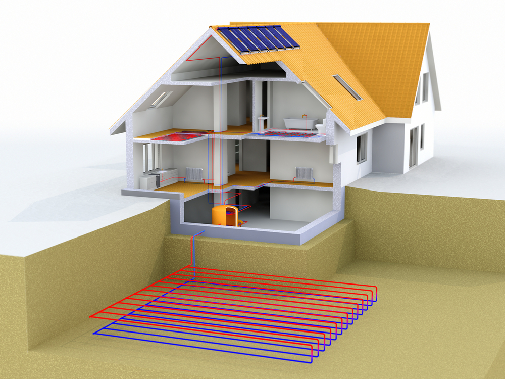 Geothermal heating is the energy-efficient, eco-friendly solution to heating your home!