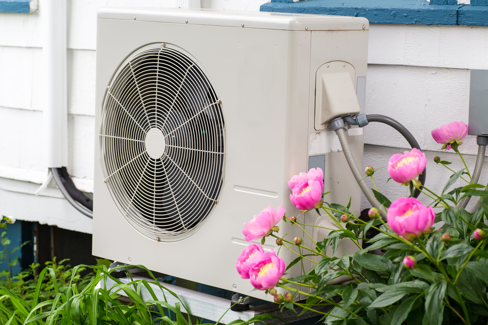 An efficient heat pump can provide both heating and cooling to your home!