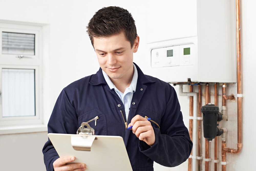 Schedule a seasonal inspection for your home's heating system.