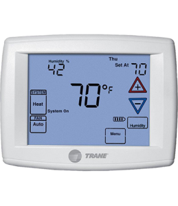 programmable thermostat by Trane